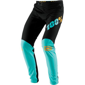 100% R-Core-X DH Cycling Pants Men black/turquoise